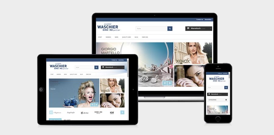 Online Shop Waschier