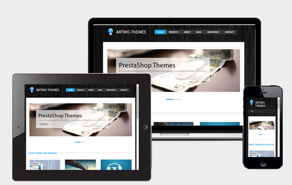 PrestaShop Templates und WordPress Themes