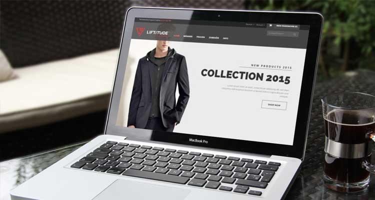 Online Shop: Liftitude