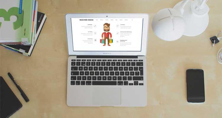 Webdesign Redesign für Waschier-Design