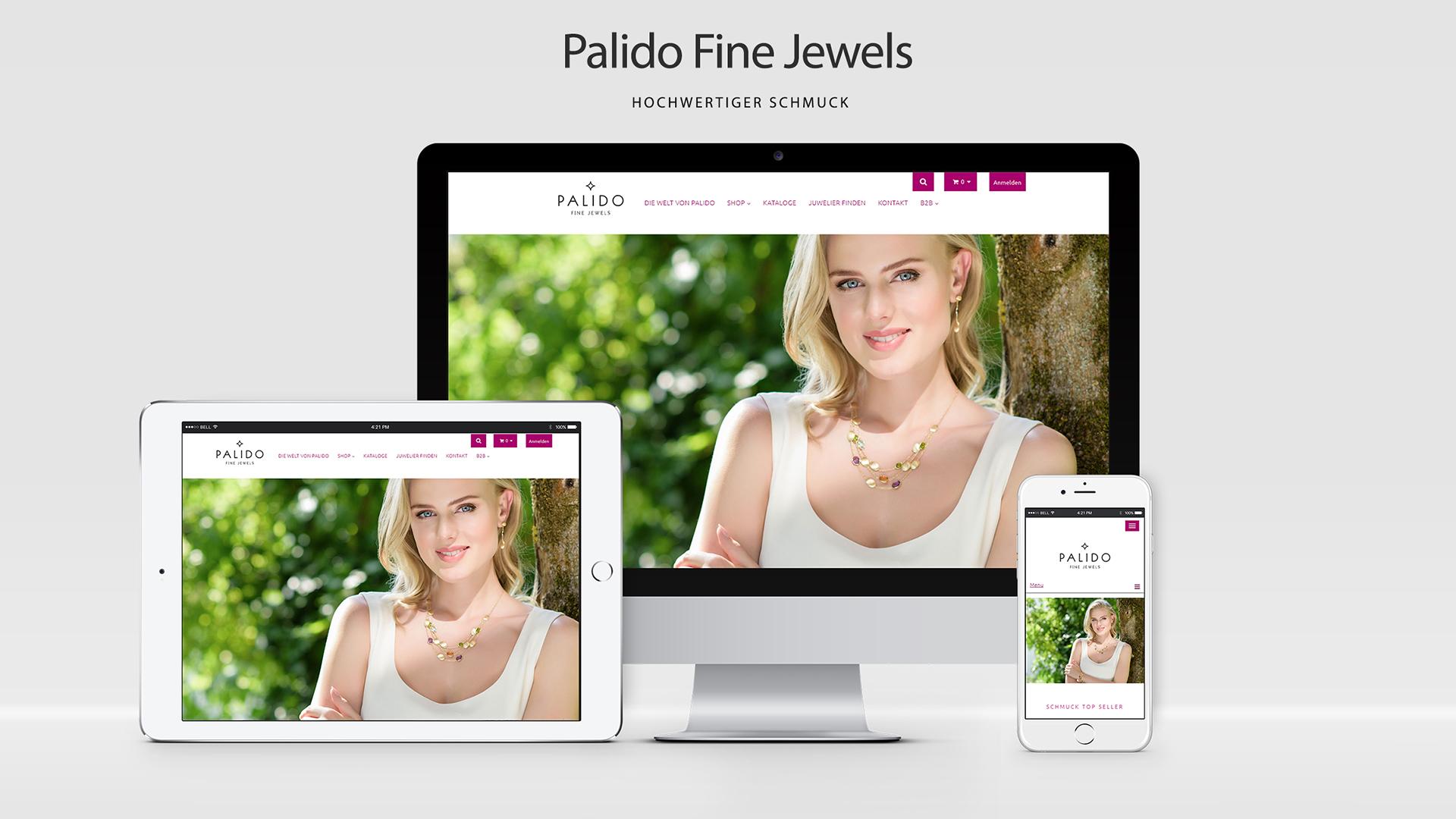 Palido – PrestaShop Online Shop mit Multistore & Dropshipping