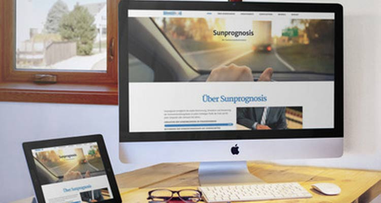 Sunprognosis – WordPress Webdesign
