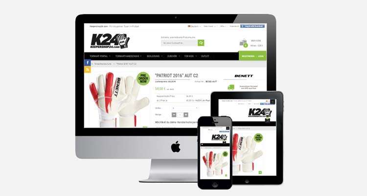Keepershop24.com – PrestaShop Produktkonfigurator