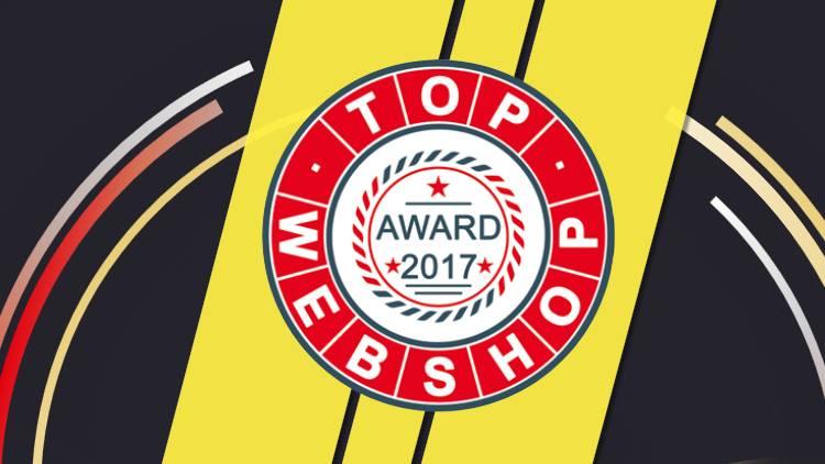 Top of Webshop Award in Silber für Juwelier Waschier