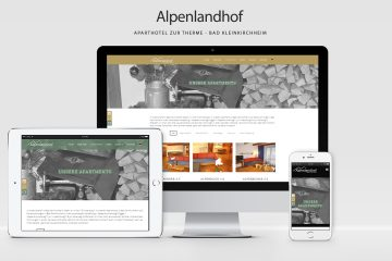 Alpenlandhof - WordPress Webdesign Kärnten, WordPress Wolfsberg