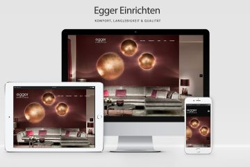 Egger Einrichten - WordPress Website, Webdesign Kärnten, Webdesign Wolfsberg