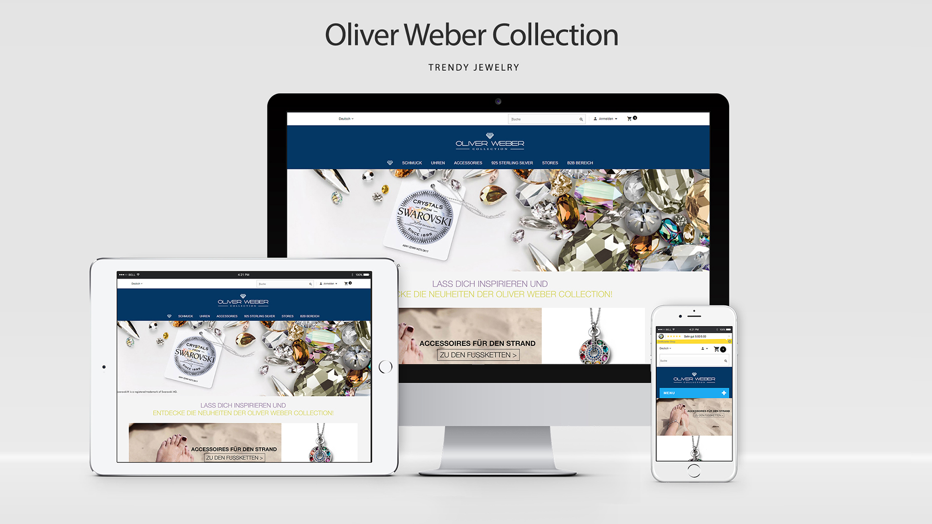 PrestaShop Online Shop & E-Commerce System für Oliverweber