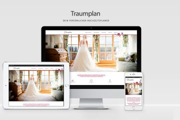 WordPress Webdesign Redesign für Traumplan