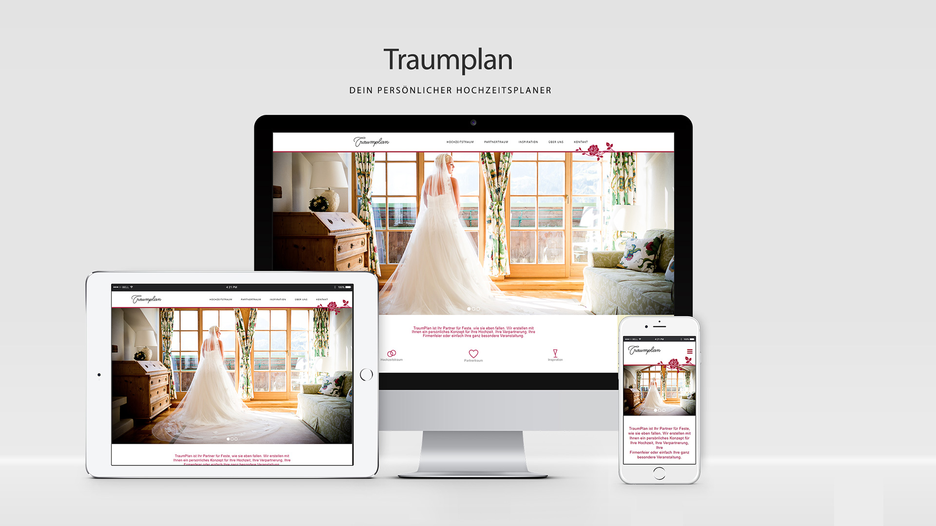 WordPress Webdesign Redesign für Traumplan