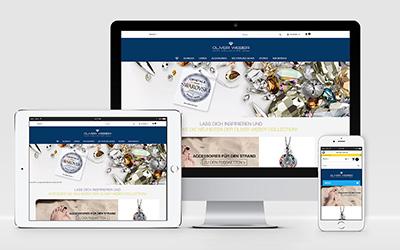 Screenshot PrestaShop Onlineshop Oliverweber