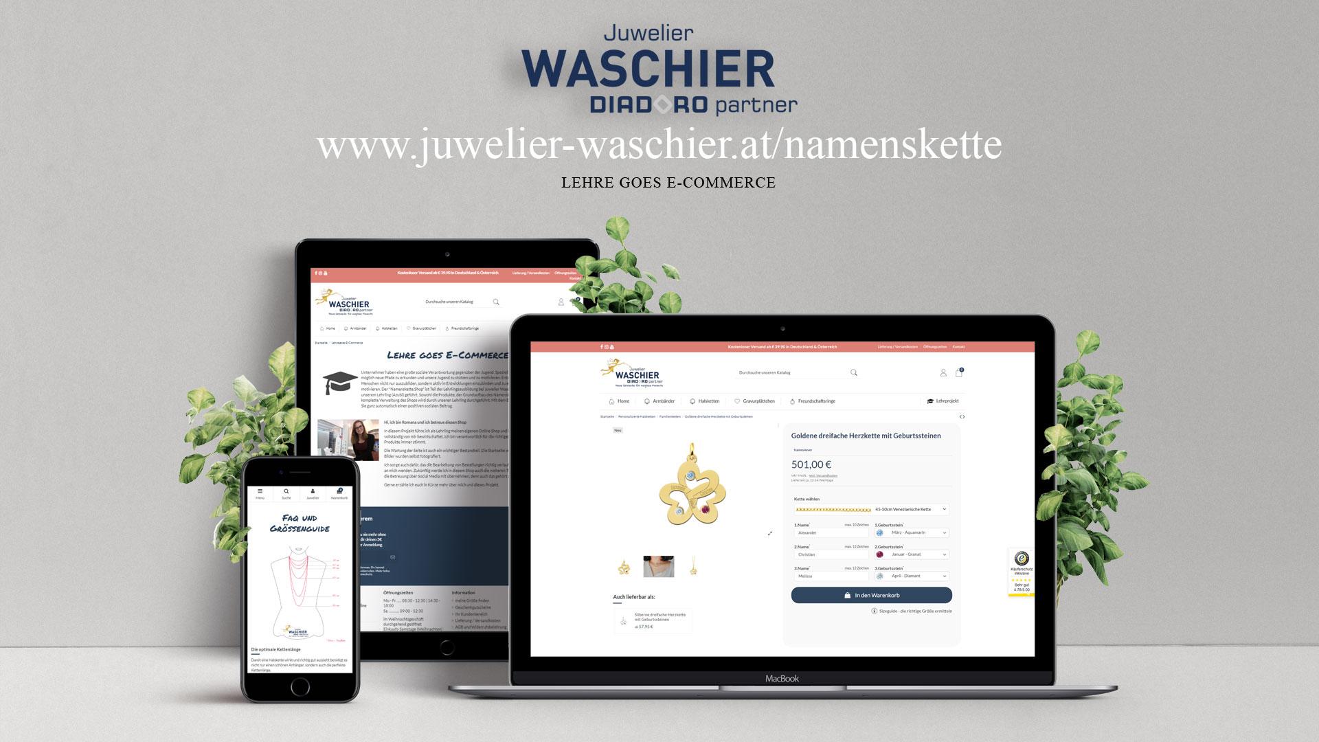 Lehre goes E-Commerce - das Lehrlingsprojekt
